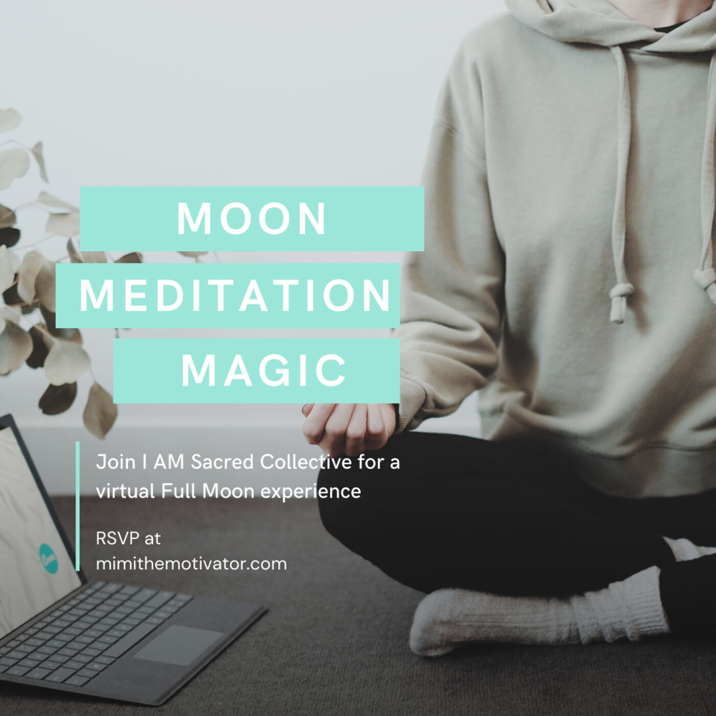 Bonus: December Moon Meditation Magic from I AM Sacred Collective