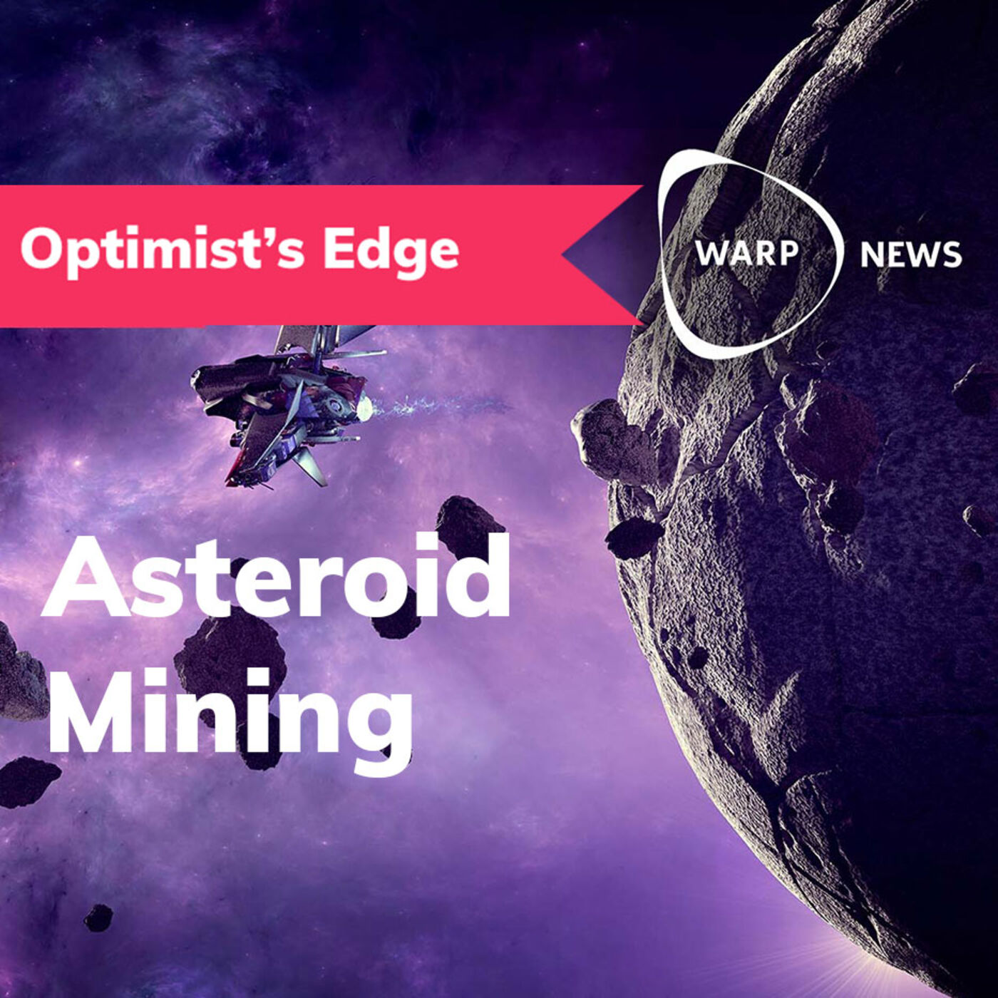 💡 Optimist's Edge: In space we have all the minerals we need