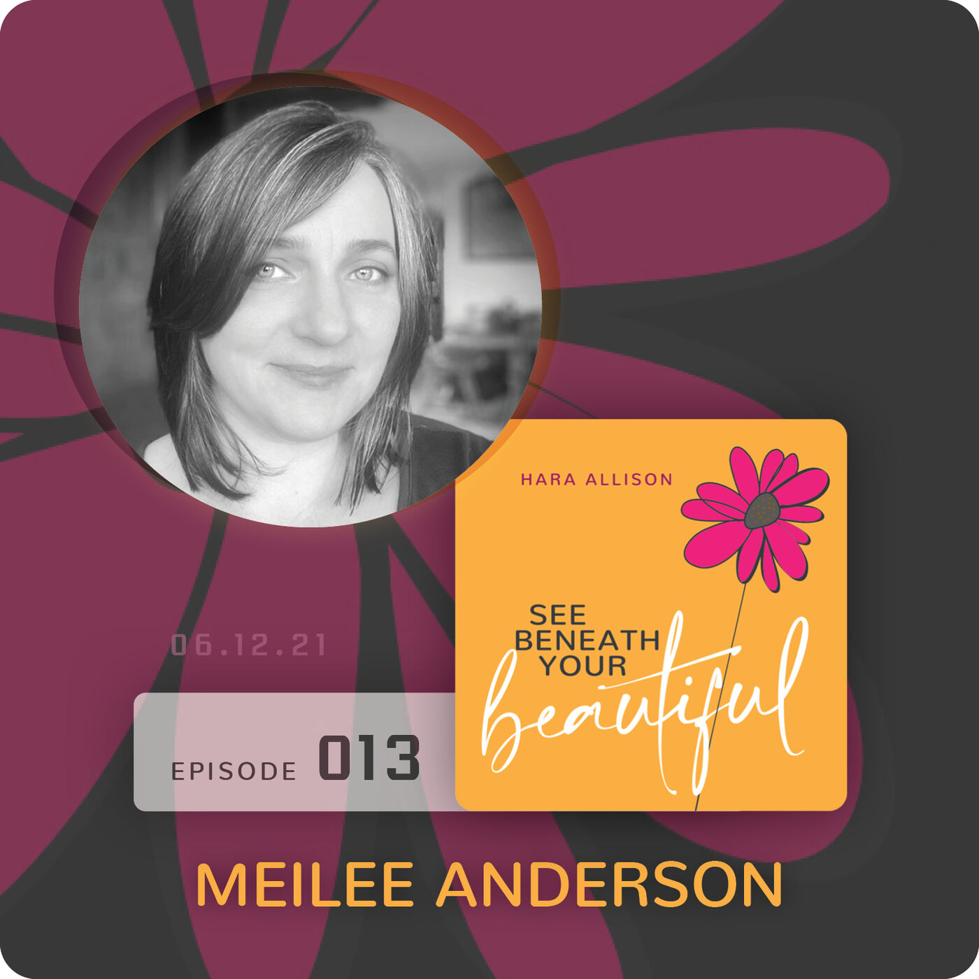 013. Meilee Anderson discusses chasing frogs and fireflies, scheduling meltdowns after an unexpected divorce and years later being happily married, debt free, all italics grateful and a promiscuous reader