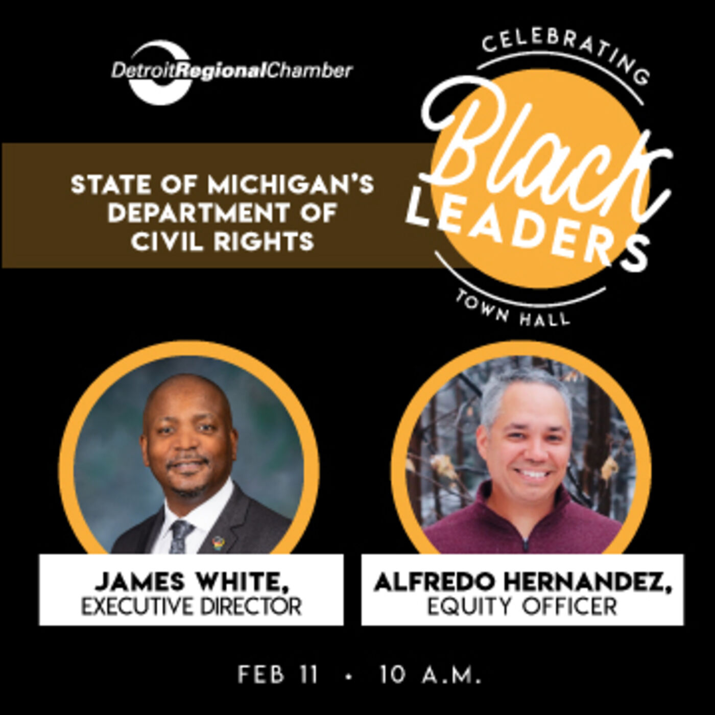 Celebrating Black Leaders: State of Michigan's Department of Civil Rights
