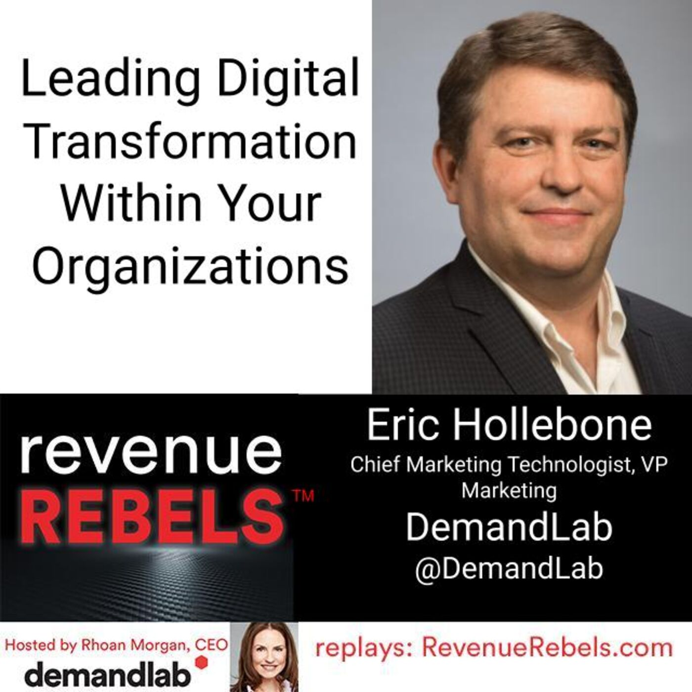 Leading Digital Transformation Within Your Organizations