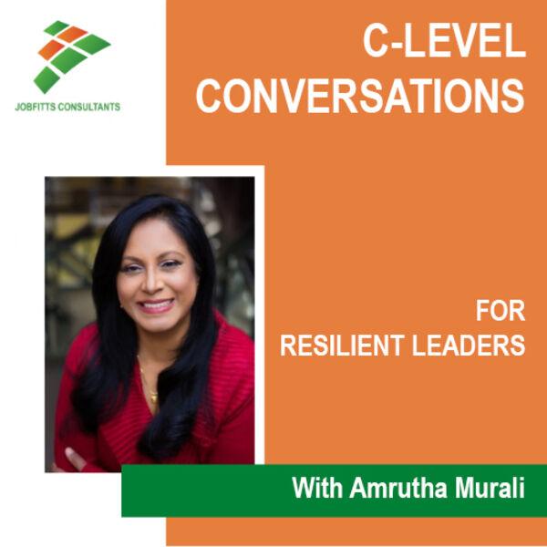 C-Level Conversations Podcast Artwork Image