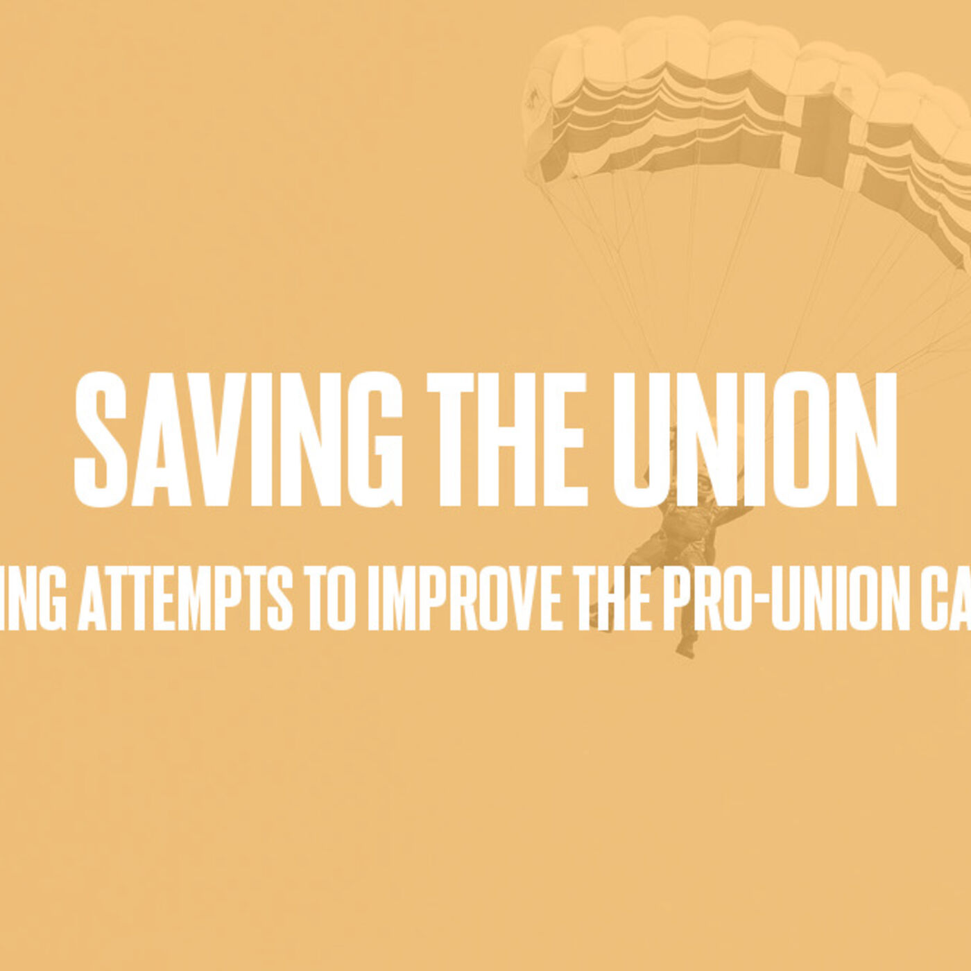 Episode #54 - Saving The Union