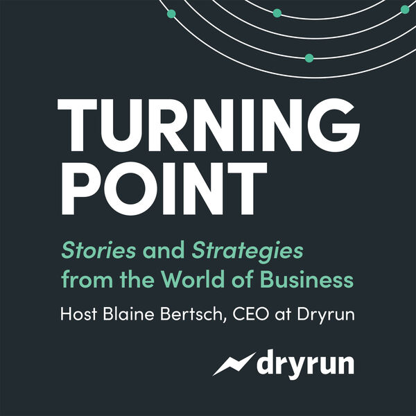 Turning Point with Blaine Bertsch Podcast Artwork Image