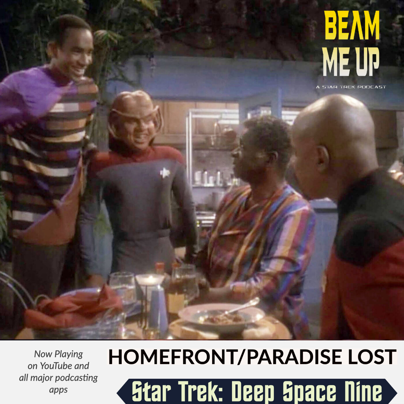 Star Trek: Deep Space Nine   Homefront and Paradise Lost