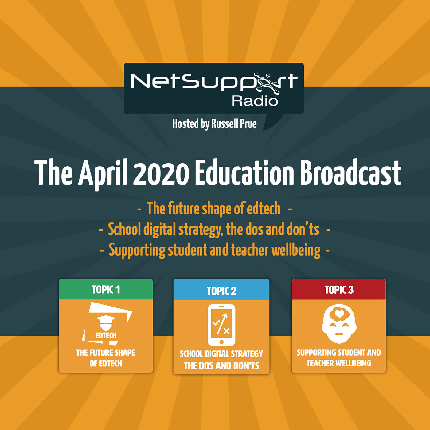 The April 2020 Education Broadcast