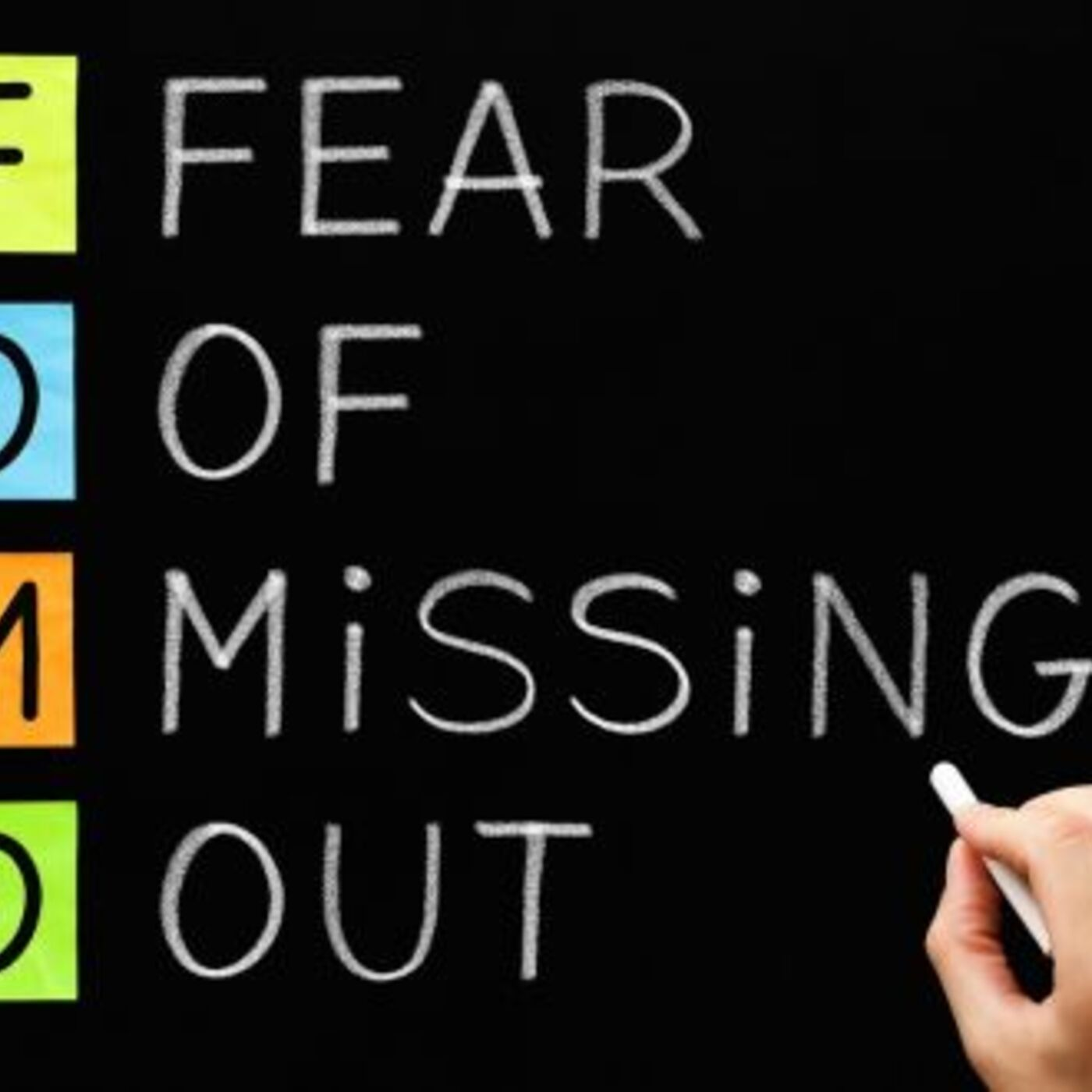 #64. Don't let FOMO take control of this critical part of your life.