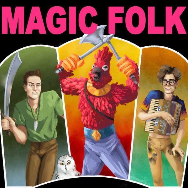 Magic Folk Podcast Artwork Image