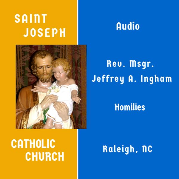 St. Joseph Catholic Church Raleigh, NC Podcast Artwork Image