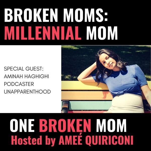 One Broken Mom Podcast Artwork Image