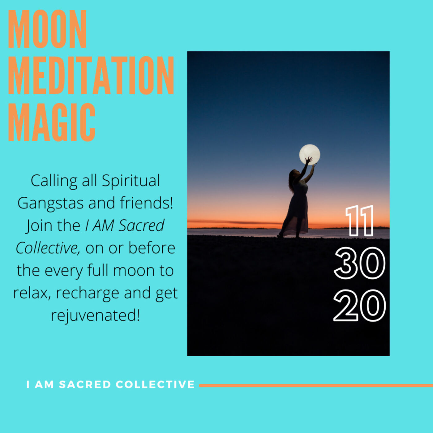 November Moon Mediation Magic REPLAY