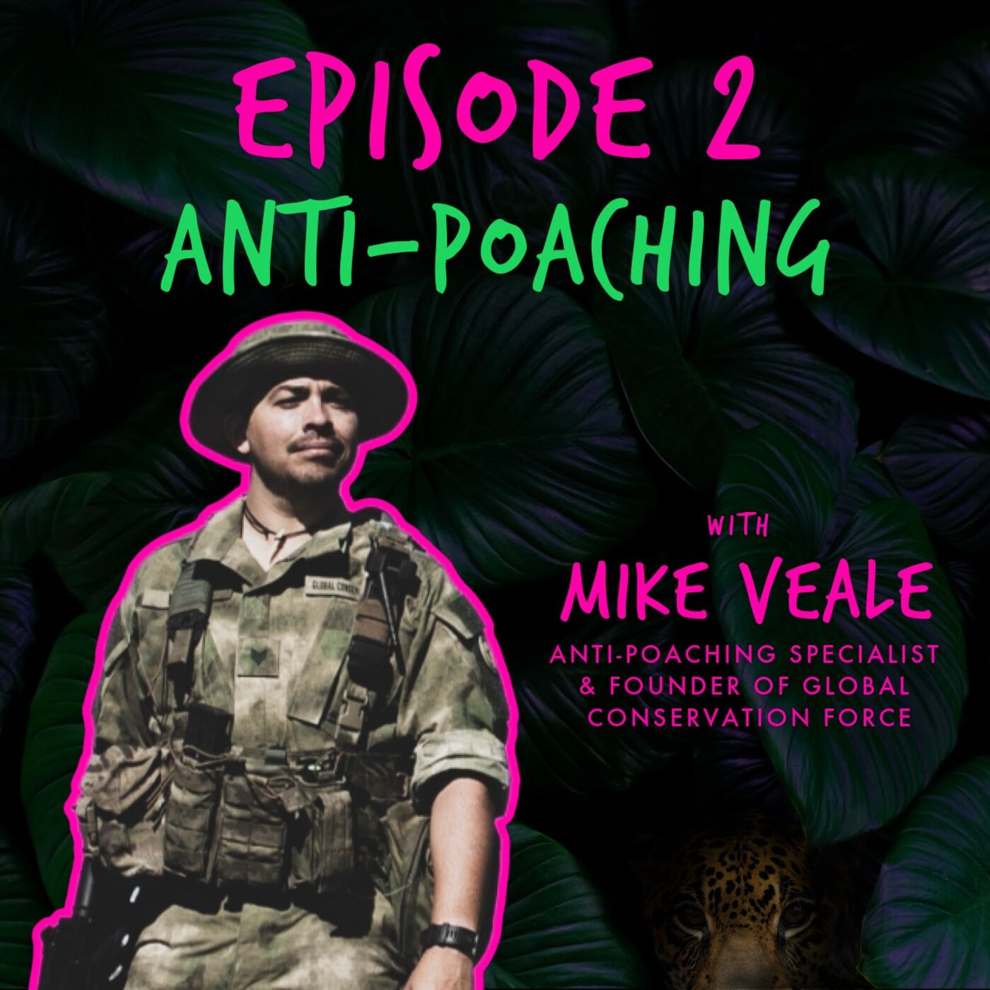 ANTI-POACHING with MIKE VEALE