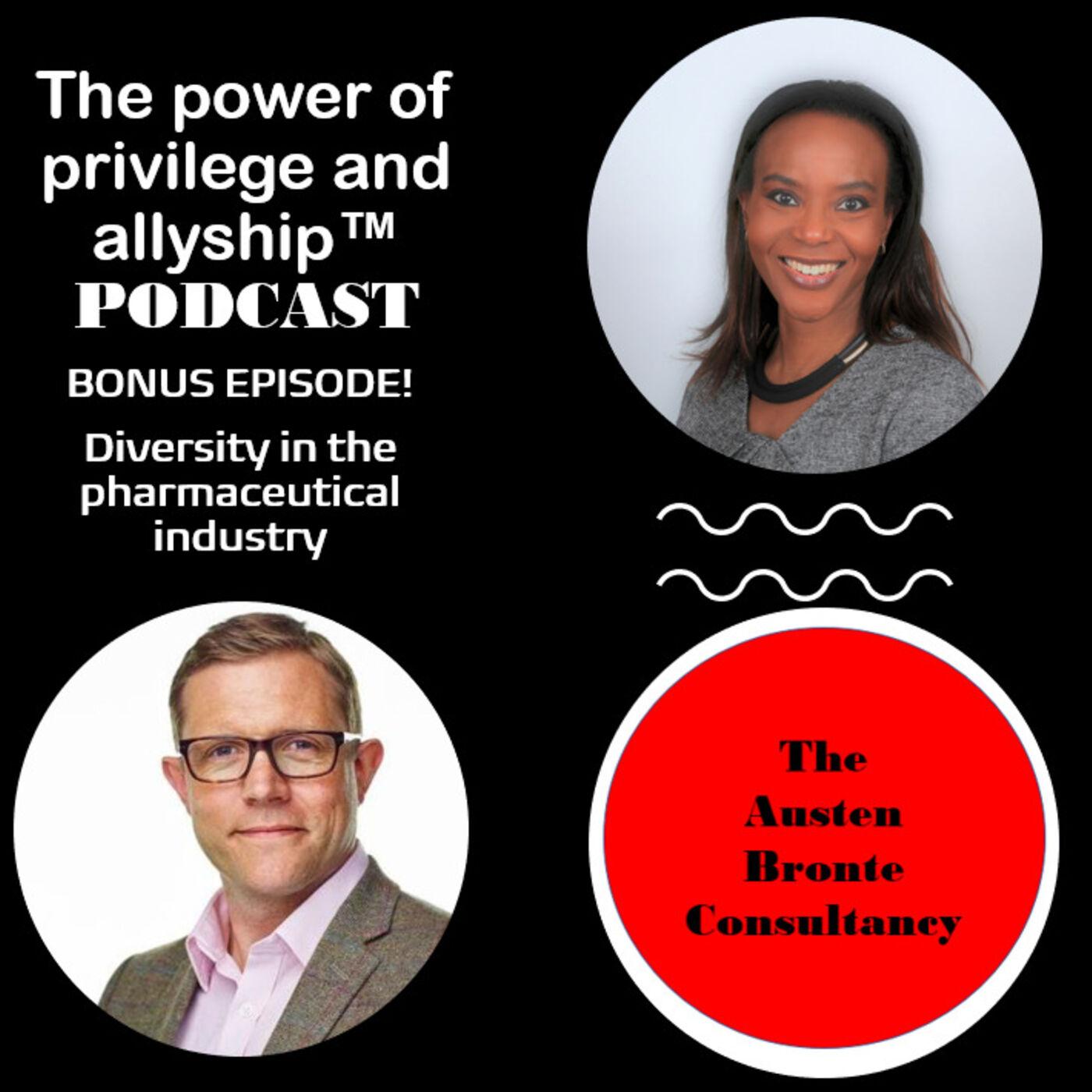 S1 BONUS EPISODE: Diversity in the pharmaceutical industry feat. Owen Marks
