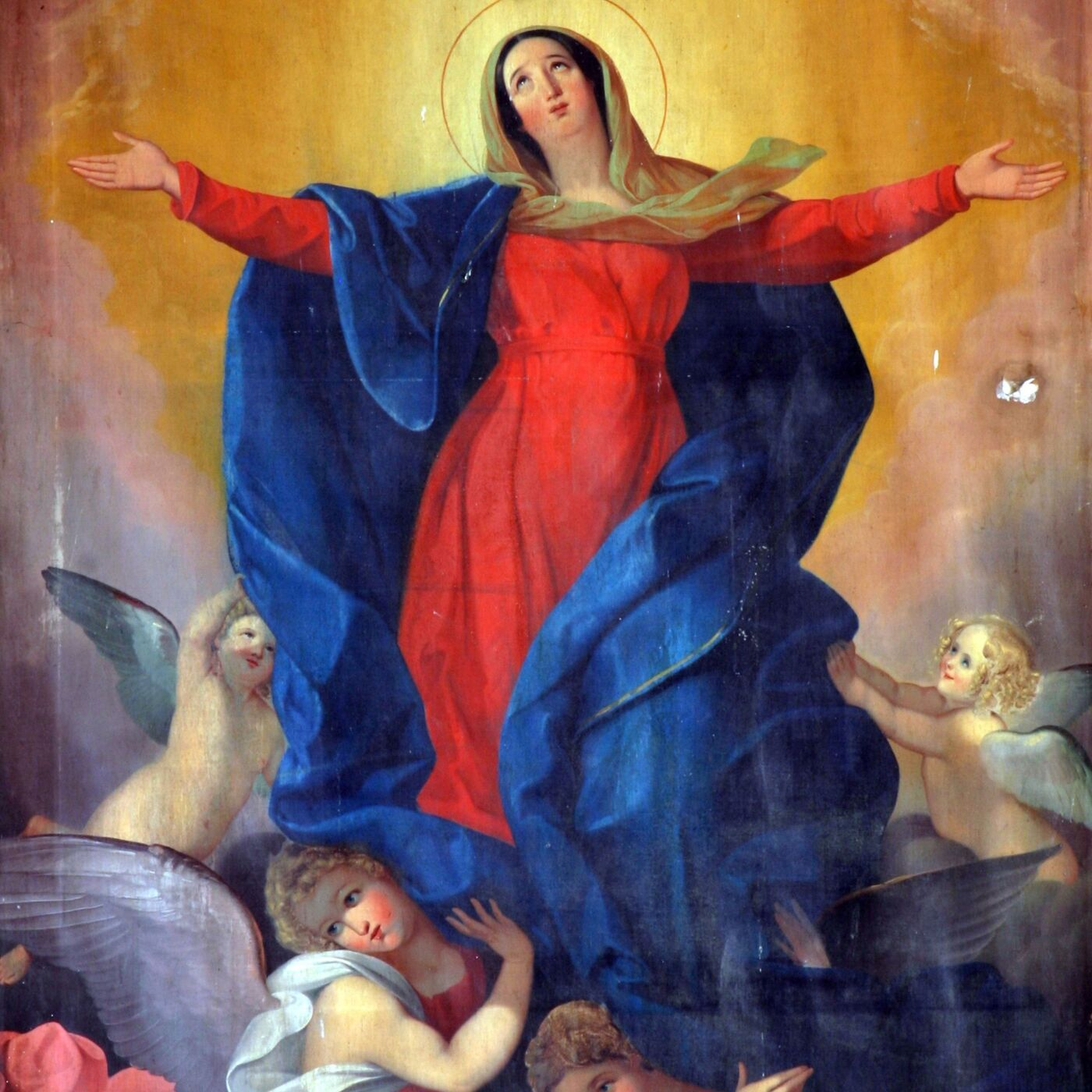 The Assumption of the Blessed Mother into Heaven