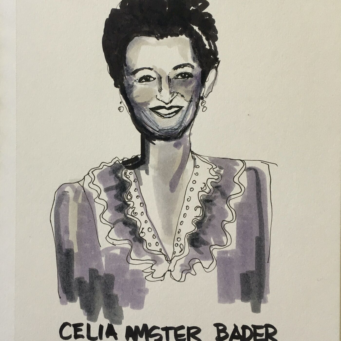 """Celia Amster Bader – """"The Bravest and Strongest Person I Have Known."""" - RBG"""