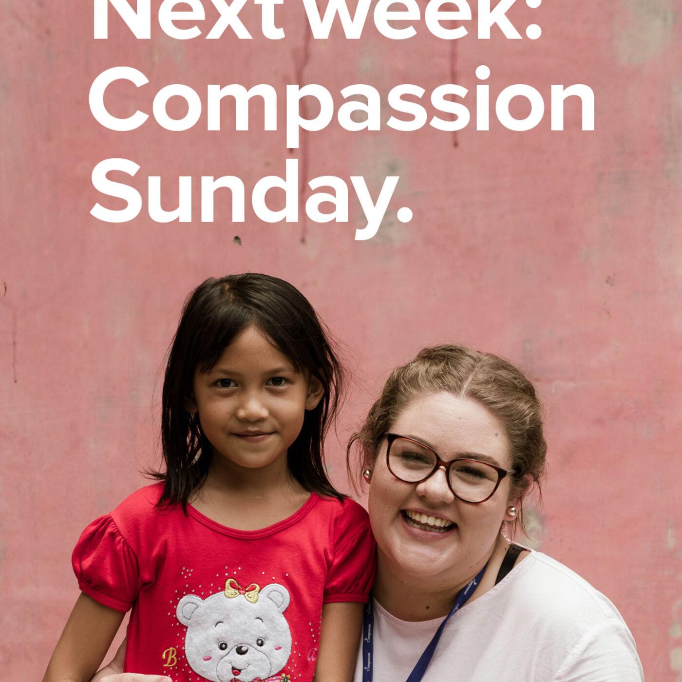 Compassion Sunday with Jordan St. Cyr