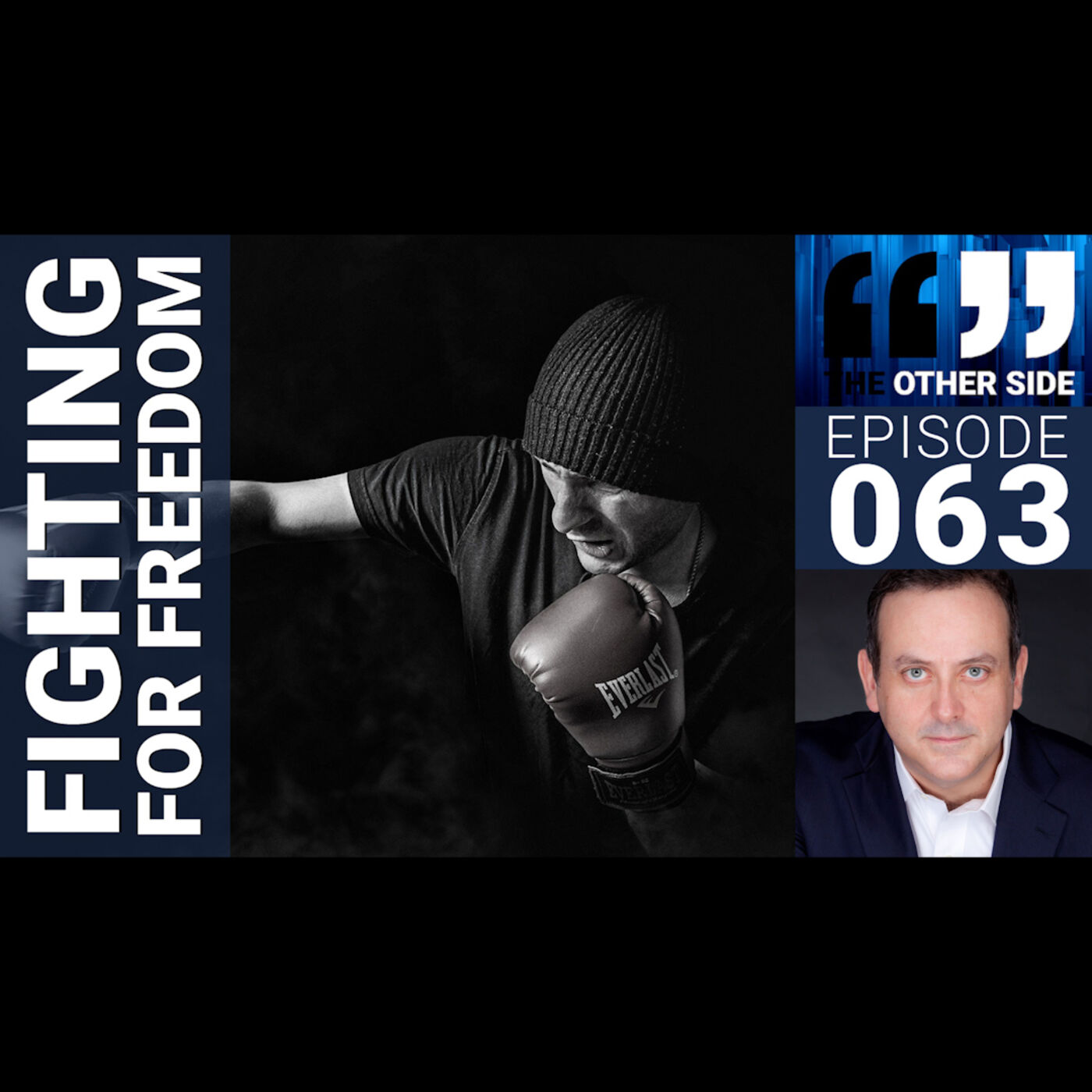 The Other Side with Damian Coory Episode 63: Fighting for Freedom