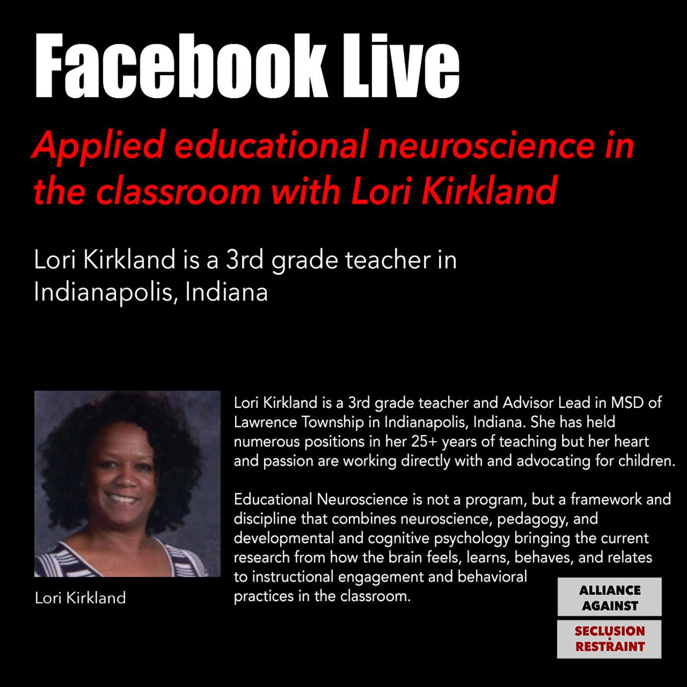 Applied educational neuroscience in the classroom with Lori Kirkland