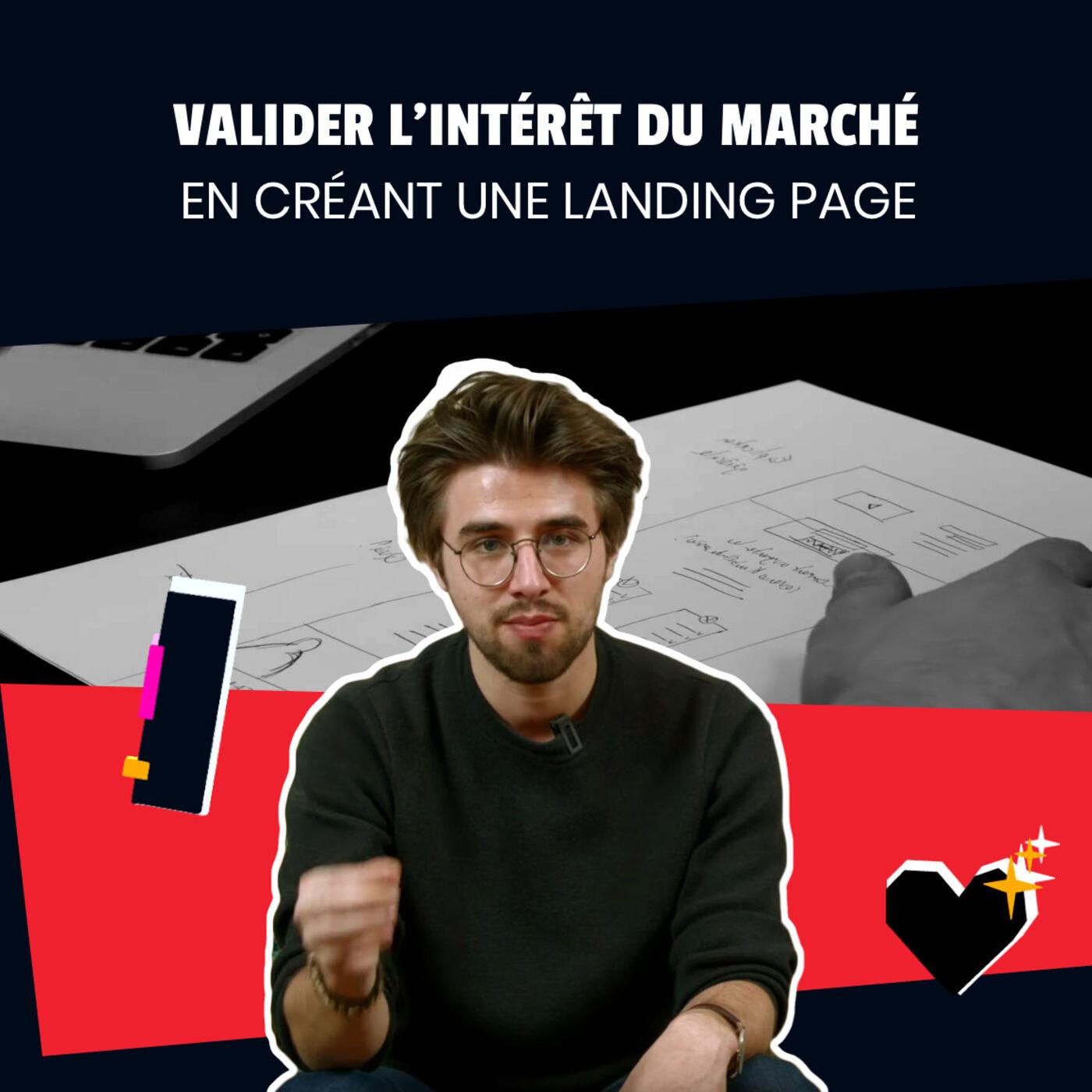 Ep 1 - Valider l'intérêt du marché en créant une landing page I Saison 2 Koudetat Entreprendre