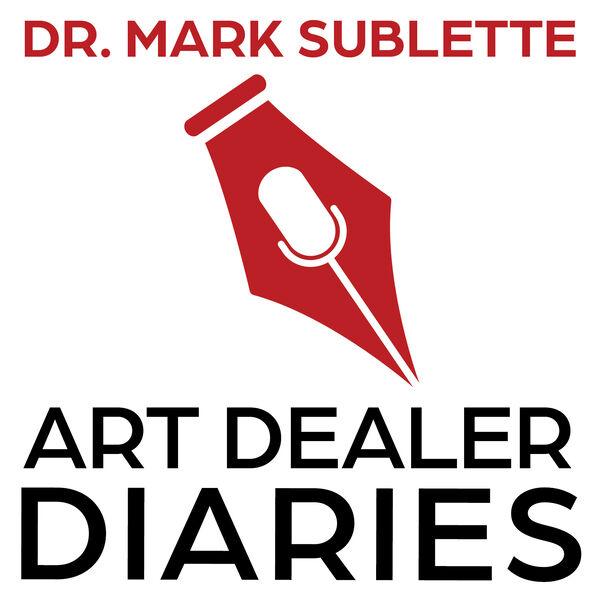 Art Dealer Diaries Podcast Podcast Artwork Image