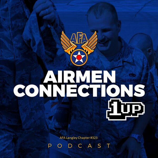 Airmen Connections 1UP! Podcast Artwork Image
