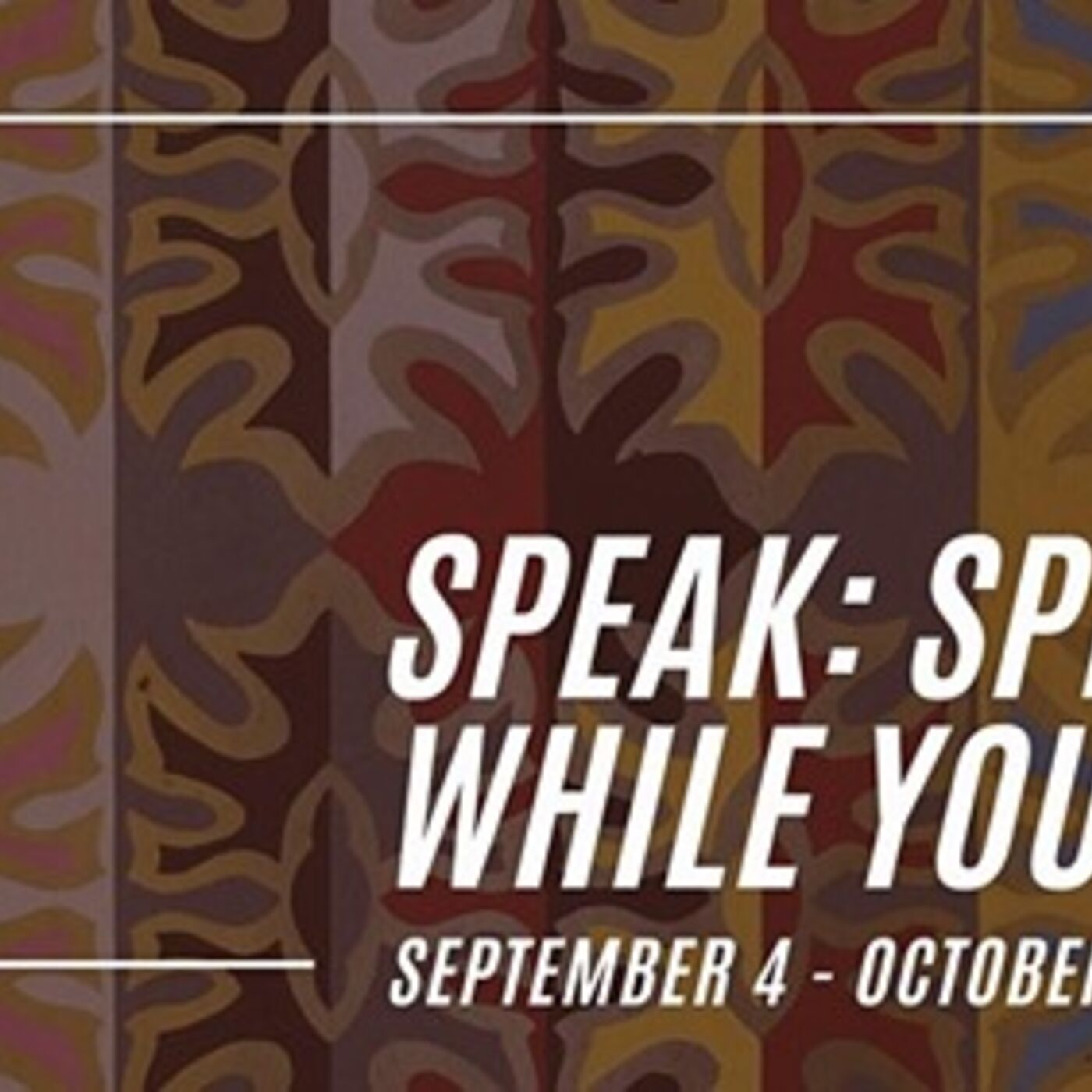 Living Arts of Tulsa Artist Panel For Speak: Speak While You Can Exhibit With Tony Tiger, Antonia Belindo, Joshua Hinson, and Randi Narcomey-Watson--Video Available On Inspiring Conversations Podcast Channel On Youtube-Link Below