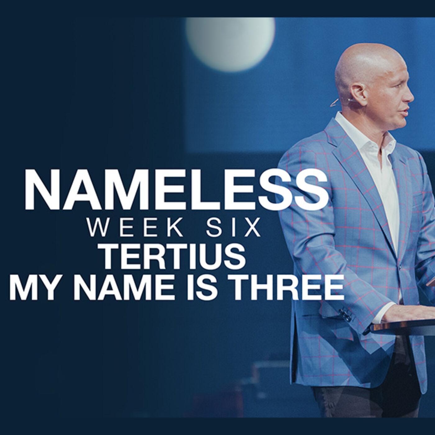 Nameless // Week Five - The Shunemite Woman