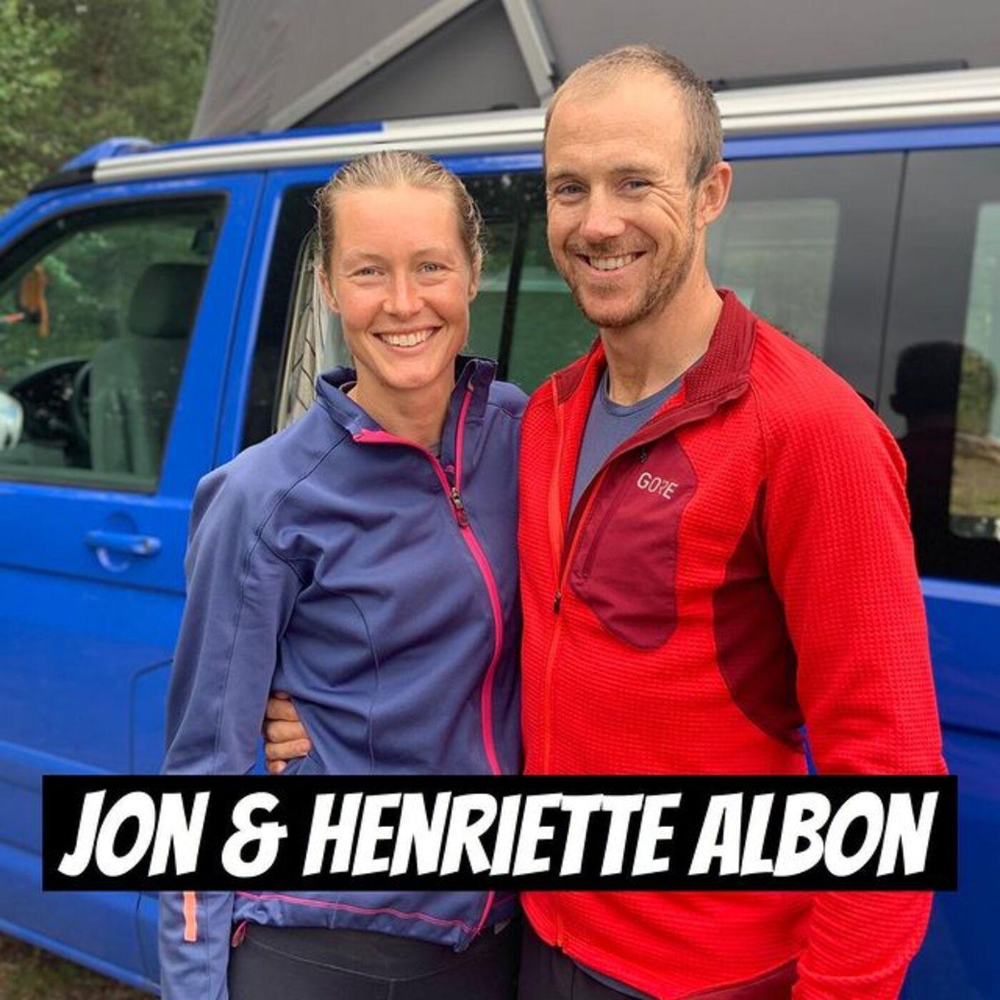 #132 - Jon Albon & Henriette Albon   Skader, Treningsfilosofi, 2020-sesongen, Flytting fra Bergen til Åndalsnes