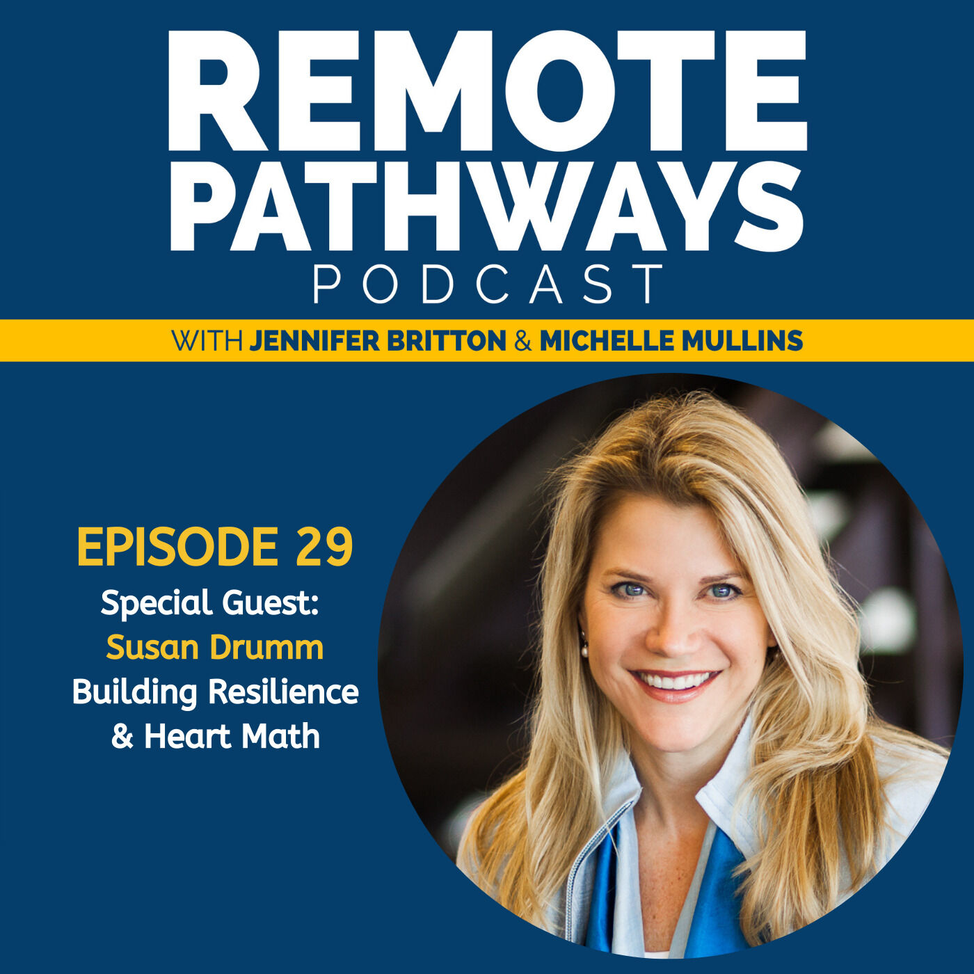 EP29 Building Resilience & Heart Math | Guest: Susan Drumm