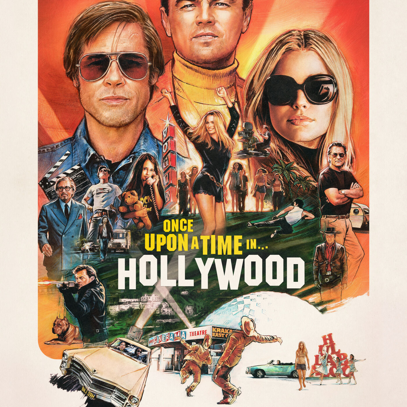 Tarantino pleases himself with Once Upon A Time In Hollywood