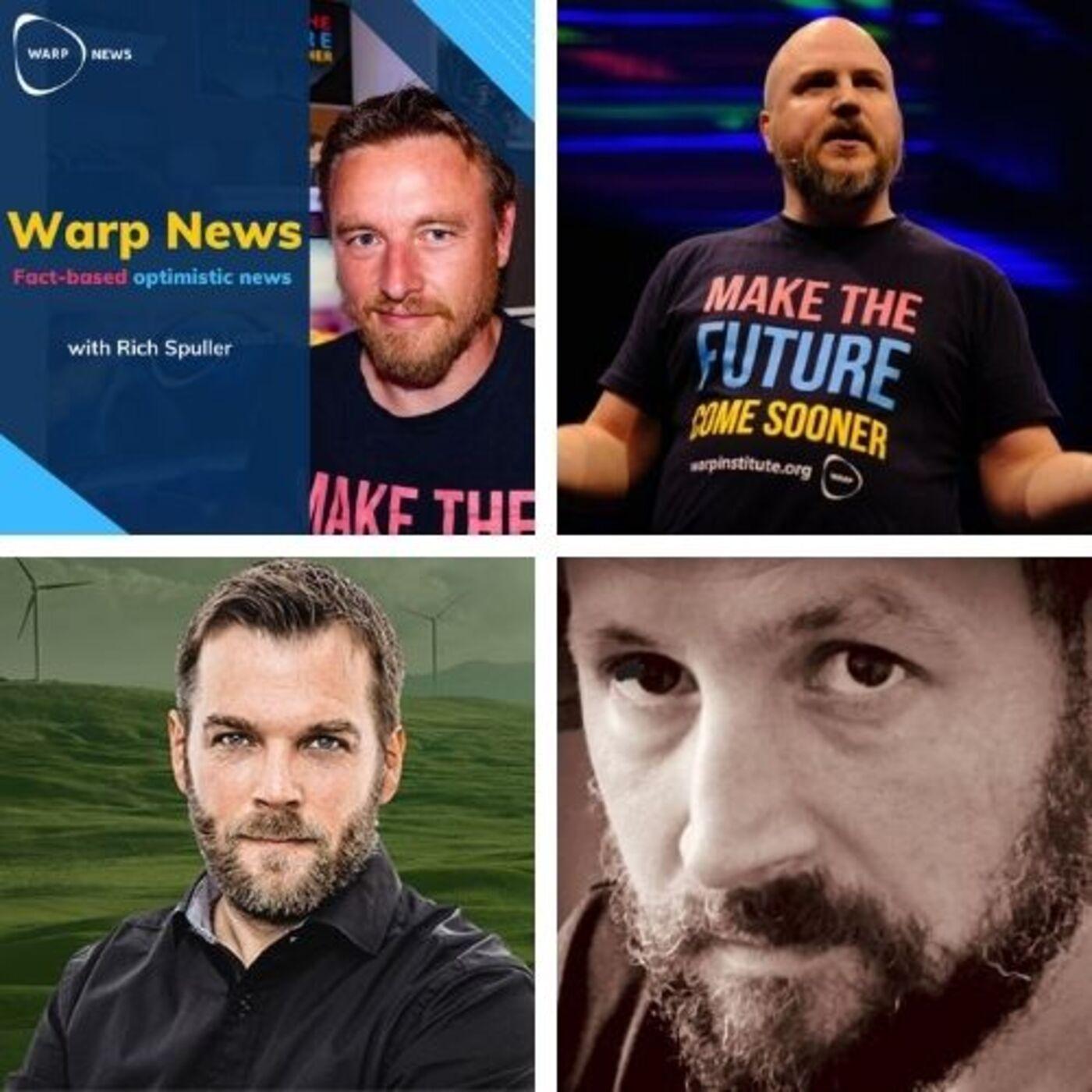 Nya Optimist's Edge - diskussion med Warp News fyra grundare.
