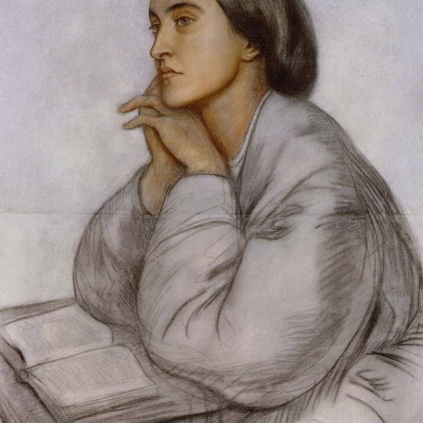 Christina Rossetti Heart's Chill Between 'Aloof' (from The Thread of Life) In an Artist's Studio