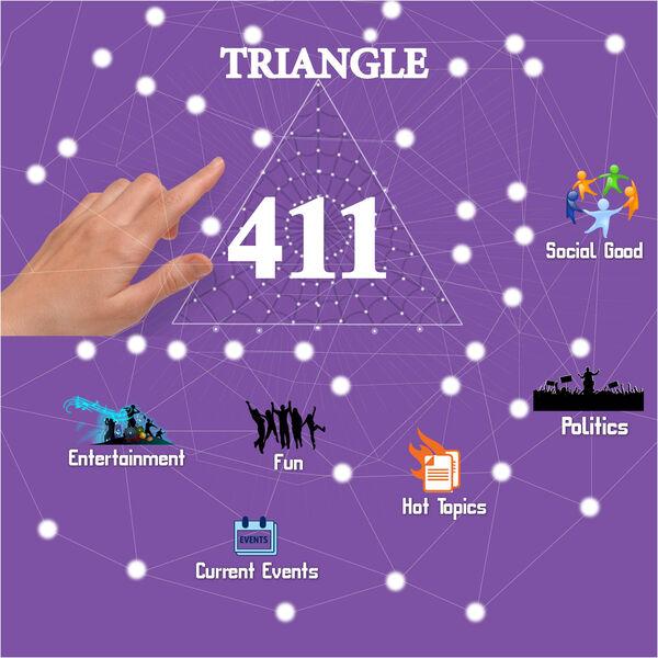 Triangle 411 Podcast Artwork Image