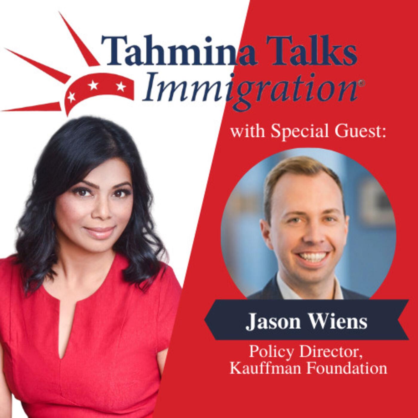#126 Startup Visa Series - Jason Wiens, Policy Director, Kauffman Foundation