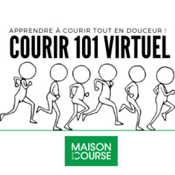 Courir 101 Virtuel Podcast Artwork Image