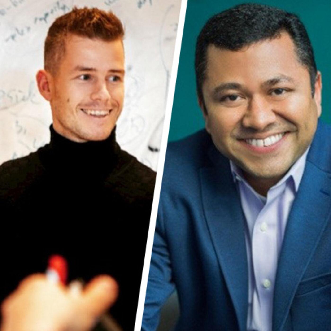 Mathew Elenjickal Founder & CEO of FourKites and Stephan de Barse EVP of o9 Solutions
