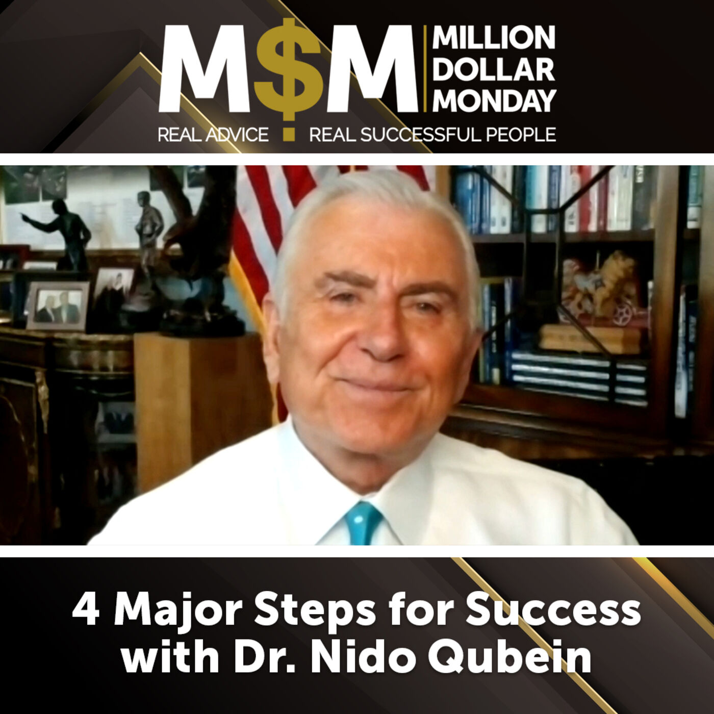 4 Major Steps for Success with Dr. Nido Qubein