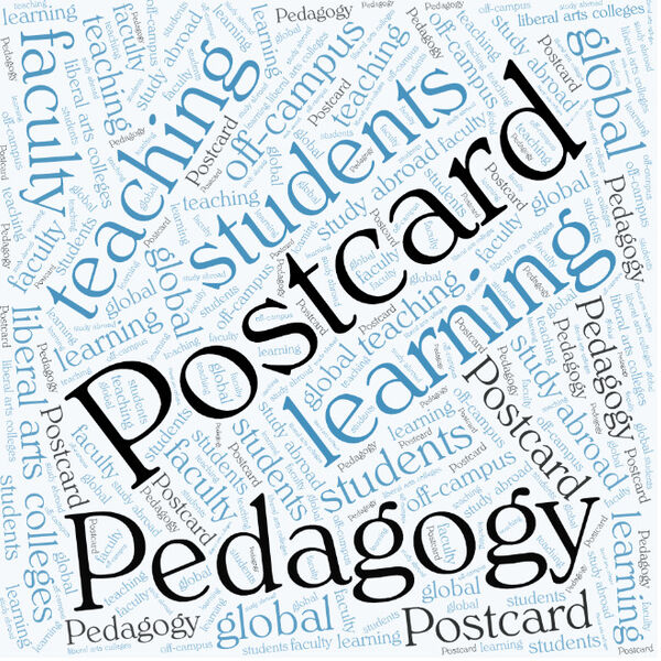 Postcard Pedagogy Podcast Artwork Image