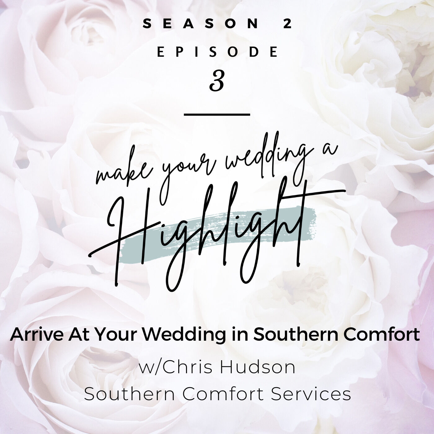 Arrive At Your Wedding in Southern Comfort