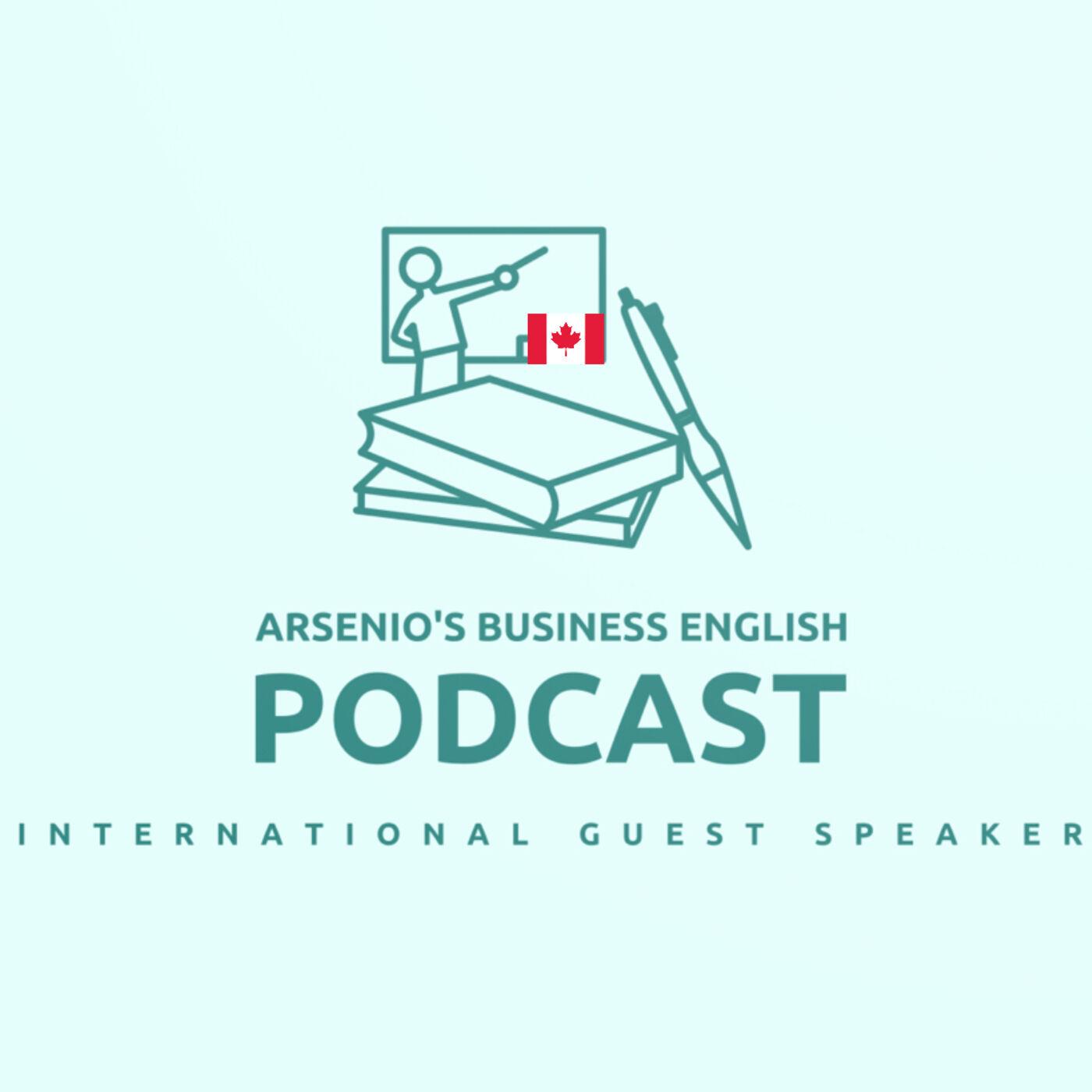 International Business Guest Speaker | Crystal of Canada | How to Choose an ESL Teacher/Tutor
