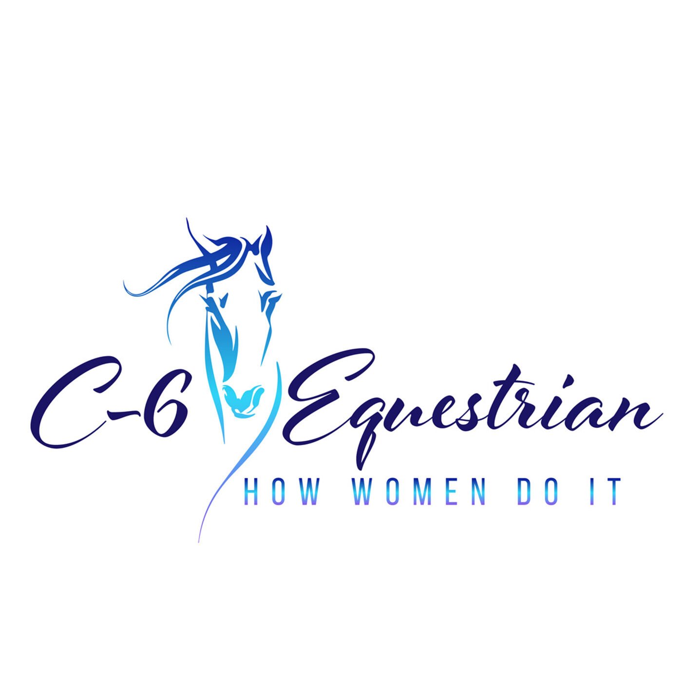 "#145 C-6 Equestrian ""How Women do it"""