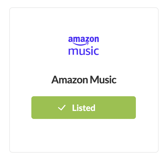 Submit podcast to Amazon Music